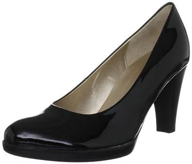 Gabor Womens Soria P Court Shoes 85.220.97 Black 7.5 UK, 41 EU