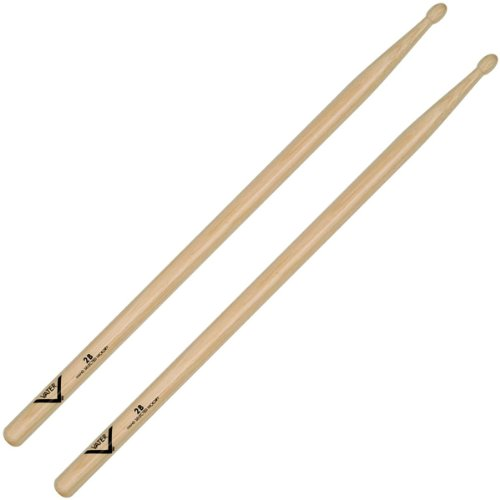 Vater Percussion 2B Drumsticks, Wood Tip