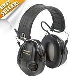 Peltor Sporttac Tactical Sport Headset w/ Standard Black & Orange Cups MT16H210F MT16H210F-479-SV