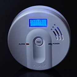 Home Safety LCD display CO Carbon Monoxide Security Detector (JKD-603) by Oxford Street