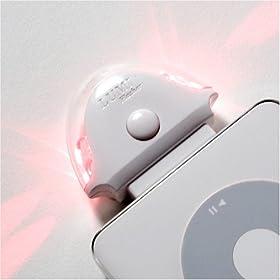 Lumi Ventures iPodセーフティライト(ホワイト) Lumi Flasher White ホワイト LV-LF-WT