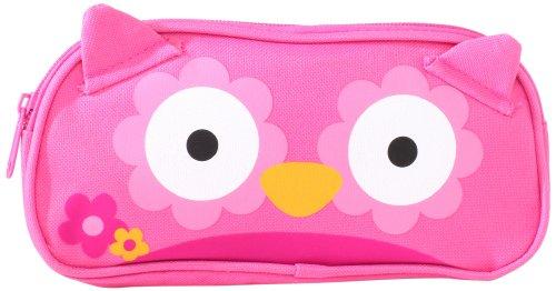 Stephen Joseph Little Girls' Pencil Pouch, Owl, One Size front-749677