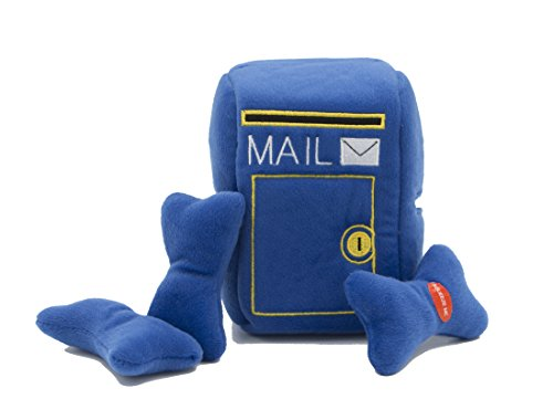 Dig-it-Stuffable-Mailbox-Plush-Toy-Interactive-Hide-and-Seek-for-Small-Dogs-4-piece-6-Mailbox