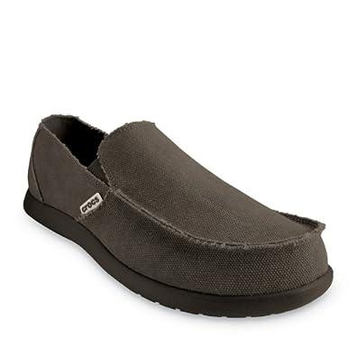 Crocs Santa Cruz Shoes for Men, UK: 15 UK, Espresso/Espresso