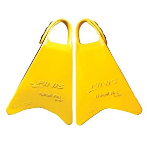 Buy Finis Fishtail Junior Fins (Yellow) by FINIS