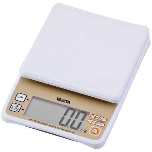 [Il peut mesurer facilement les calories Tanita cantine recommand?! Riz] TANITA ?chelle de cuisson num?rique KD-195 (japan import)