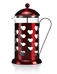 Stainless Steel Heart Cafetière