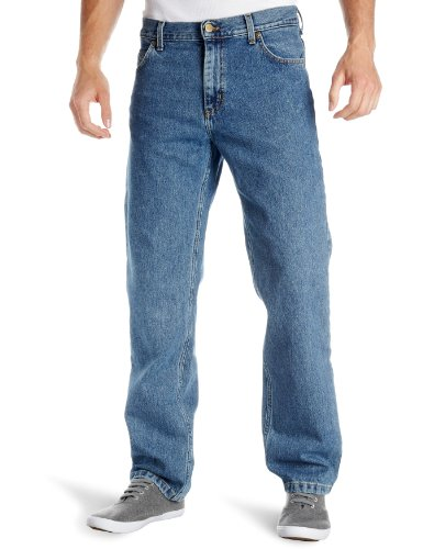 Lee Men's Brooklyn Jeans   Stonewash Blue 34W X 30L