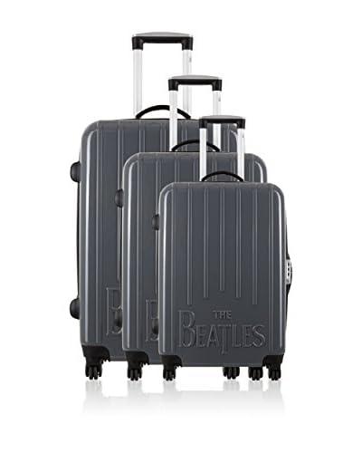 Les Beatles By Platinium Set de 3 trolleys rígidos Basic