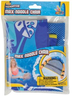 Max Liquidator Tropical Blue Max Noodle Chair