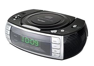 Karcher ur 1305 stereo uhrenradio mit integriertem cd for Unterschrank radio mit cd
