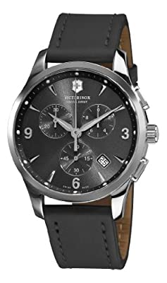 Victorinox Swiss Army Alliance Chronograph Black Strap Mens Watch 241479