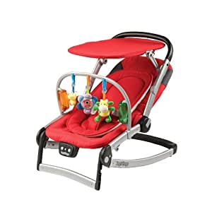 Amazon.com : Peg-Perego Sdraietta Melodia Bouncer, Corallo