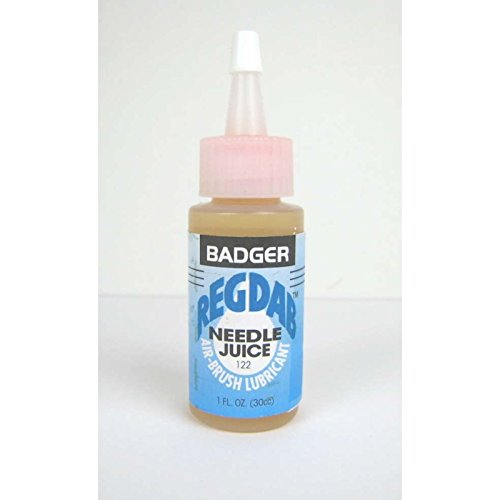 REGDAB Airbrush Lubricant 1oz. Bottle Badger