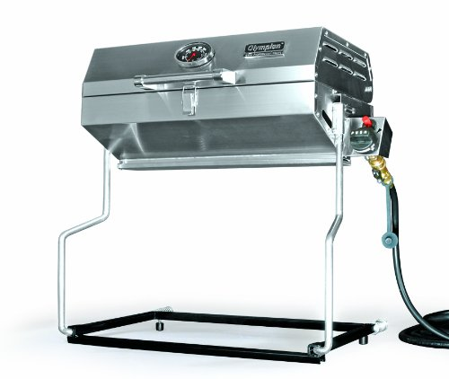 Camco 57305 Olympian RV 5500 Stainless Steel RV Grill