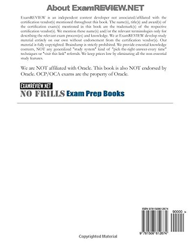 Oracle Java SE8 Programmer Exam ExamFOCUS Study Notes & Review Questions for Exam 1z0-808: 2015 Edition