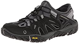 Merrell Men\'s All Out Blaze Sieve Water Shoe, Black/Wild Dove, 10.5 M US