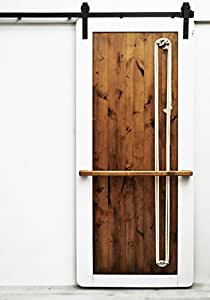 Dogberry collections nautilus barn door 48 w for 48 inch barn door