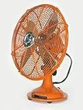 Orange Desk Fan