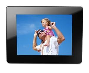 Kodak P850 Digitaler Bilderrahmen (20,3cm (8 Zoll) Display, 800x600 Pixel, 4:3, Bewegungssensor, Fernbedienung)