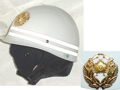 警察用ヘルメット (楕円形交通指導員前章)