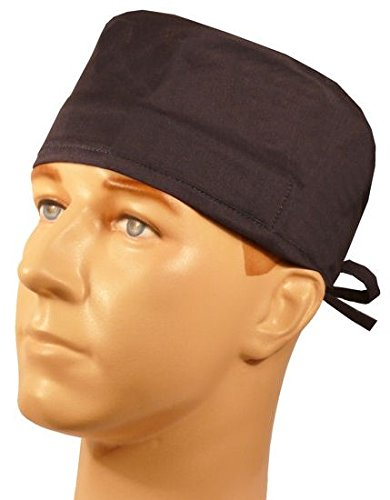 Mens and Womens Surgical Scrub Cap - Navy Blue (Scrub Cap Navy compare prices)