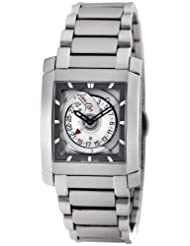 Jean D'eve Men's 005453A/OS.AA Samara 2 White Dial Stainless-Steel Bracelet Watch