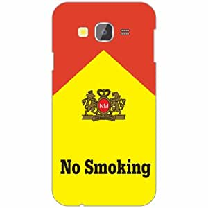 Samsung Galaxy Grand Prime SM-G530H Back Cover - Silicon No Smoking Designer Cases