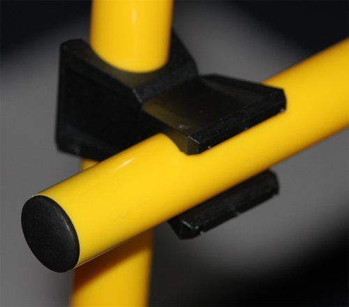 Bild von: Agility Hundesport - Clip für 2 Stangen Ø 25 mm, Verbindungsclip, Halteclip