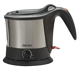 Aroma AWK-160SB Pasta Plus Water Kettle and Noodle Cooker by Aroma