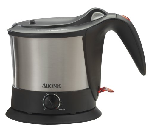 Aroma AWK-160SB Pasta Plus Water Kettle and Noodle Cooker