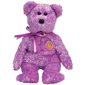 TY Beanie Baby - DABBLES the Bear (BBOM May 2006)