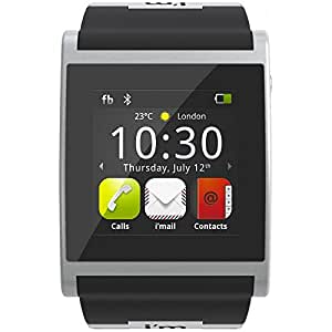 I'M Watch Smartwatch (3,8 cm (1,5 Zoll) TFT display, 128MB RAM, 4GB Flash Speicher, i'm Droid 2) schwarz