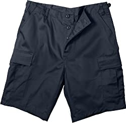 Midnite Blue Ultra Force BDU Military Combat Shorts