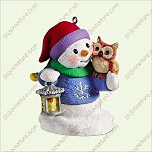 SNOW BUDDIES #8 - OWL 2005 Hallmark Ornament QX2245
