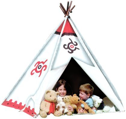 Pacific Play Tents Southwest Cotton Canvas Tee Pee - New front-672919