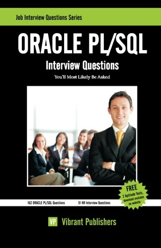 ORACLE PL/SQL Interview Questions You'll Most Likely Be Asked (Job Interview Questions)