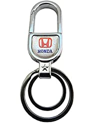 Techpro Premium Quality Metal Keychain With Honda Design
