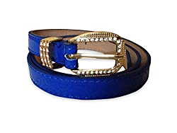 Simon New Forme/Casual One Size Stylish Multicolor Belt (Blue)