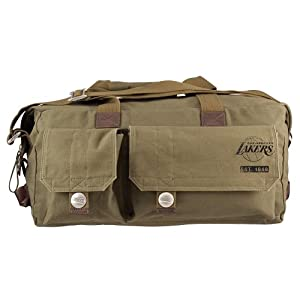 Los Angeles Lakers NBA Prospect Deluxe Weekender Bag by Little Earth