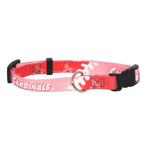 hunter-mfg-st-louis-cardinals-pink-dog-collar-small