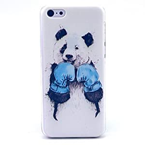 Amazon.com: LCJ Boxing Panda Pattern Hard Cover Case for iPhone 5C