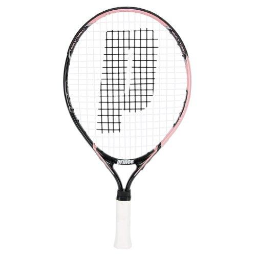 prince global sports 19 strung junior tennis racquet  pink