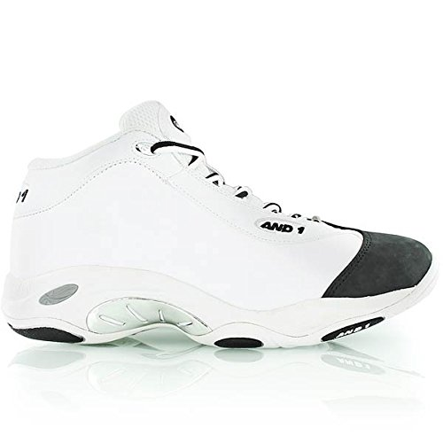 [アンドワン] AND1 TAI CHI MID 1055MWB MWB (White/Black/Silver/8.5(26.5))