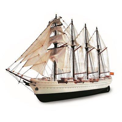 Wooden Model - JS Elcano - Showcase