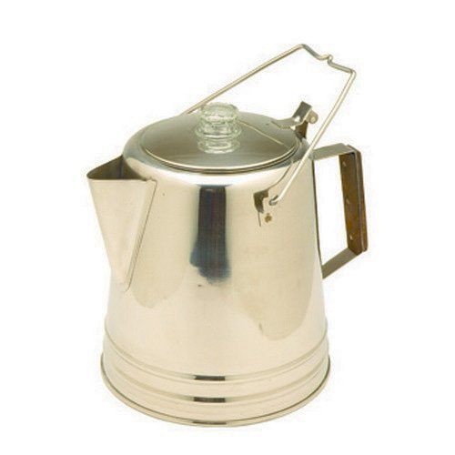 Tex Sport Percolator, Stainless Steel 14 Cup