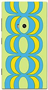 Significant multicolor printed protective REBEL mobile back cover for Nokia Lumia 920 D.No.N-T-4414-N920