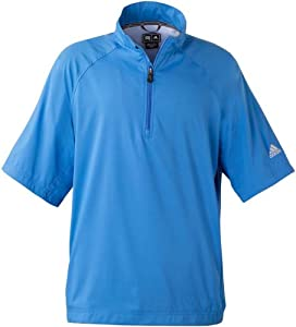 Adidas Golf A67 Mens ClimaProof Short-Sleeve Wind Shirt by adidas