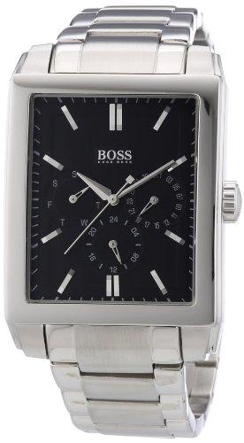 Hugo Boss 1512891 - Reloj analógico de cuarzo para hombre con correa de acero inoxidable, color plateado