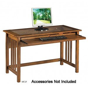 Buy Low Price Comfortable Office Star Mission Computer Desk (B004ZRDXFI)